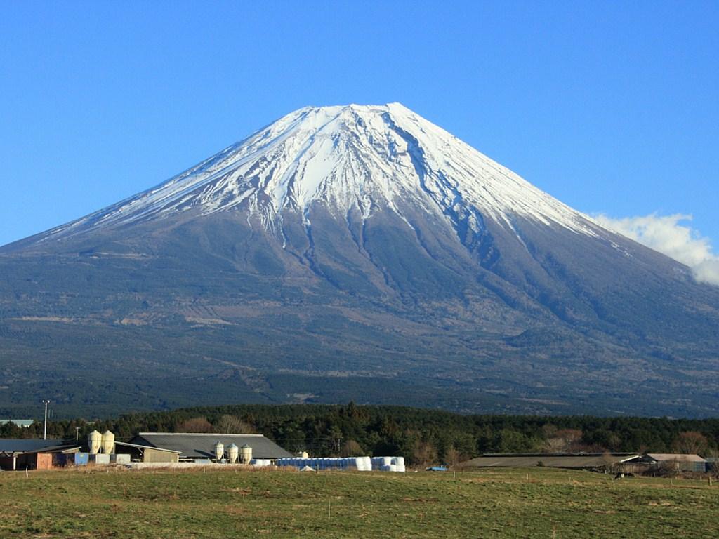 富士山と朝霧高原