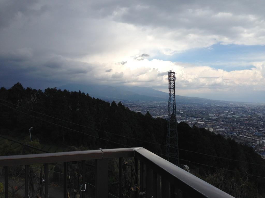 岩本山展望台から見える富士市街①