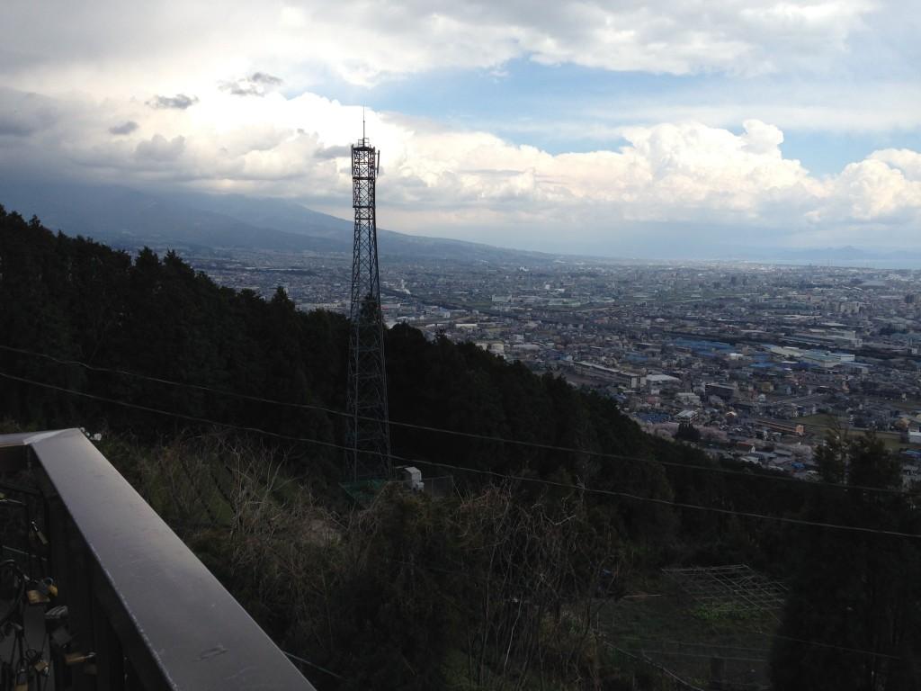 岩本山展望台から見える富士市街④