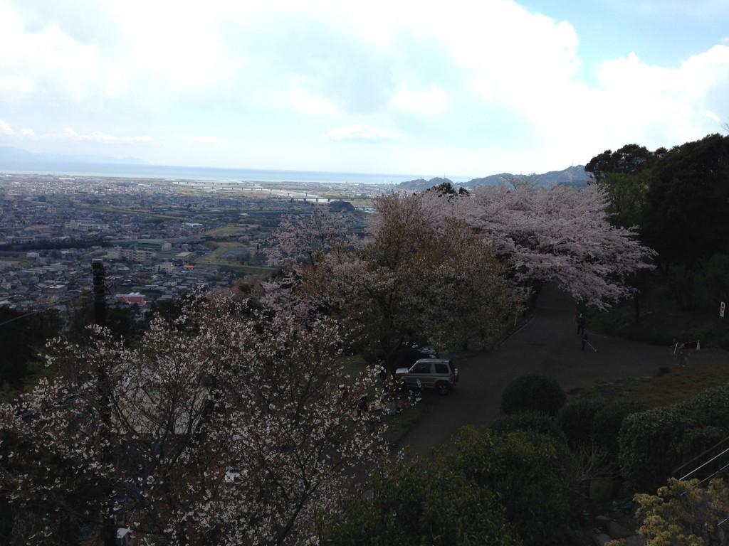 岩本山展望台から見える富士市街③
