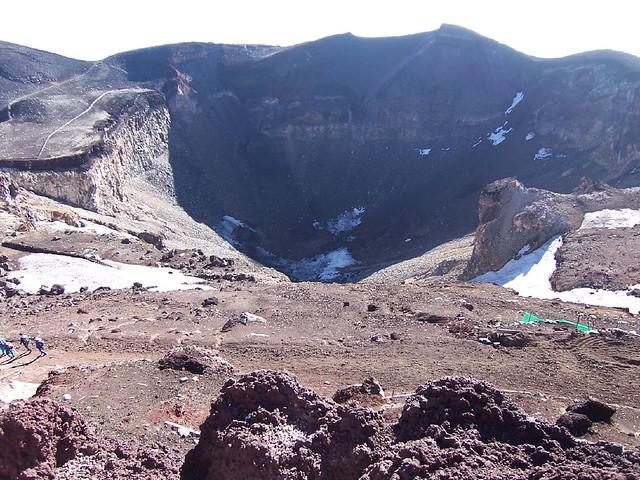 剣が峰・富士山測候所(富士山お鉢めぐり)