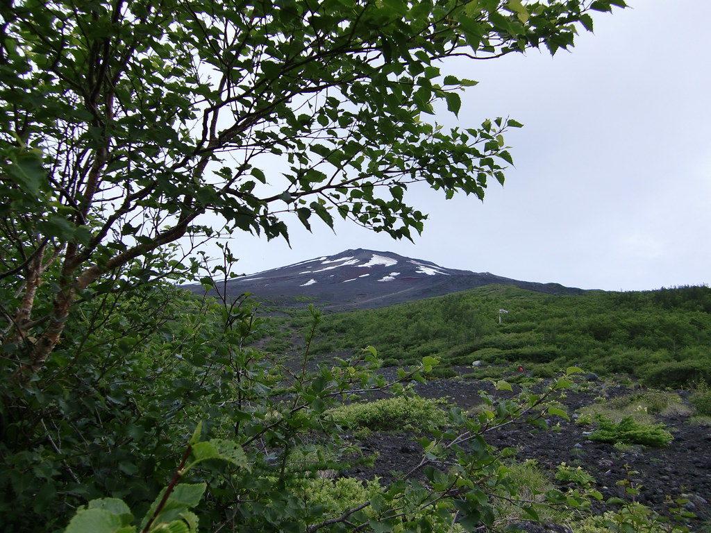 富士山須走口風景
