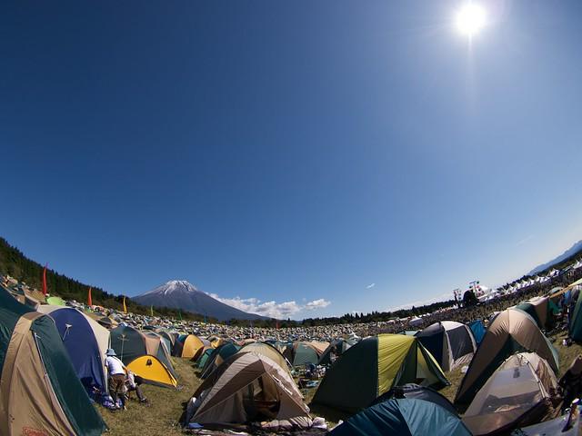 朝霧JAM - 2009 - 富士山